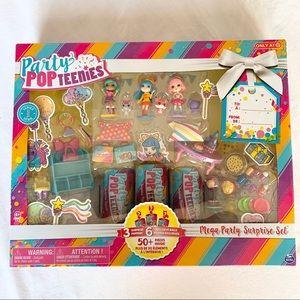 Party Pop Teenies Mega Party Surprise Set Series 1